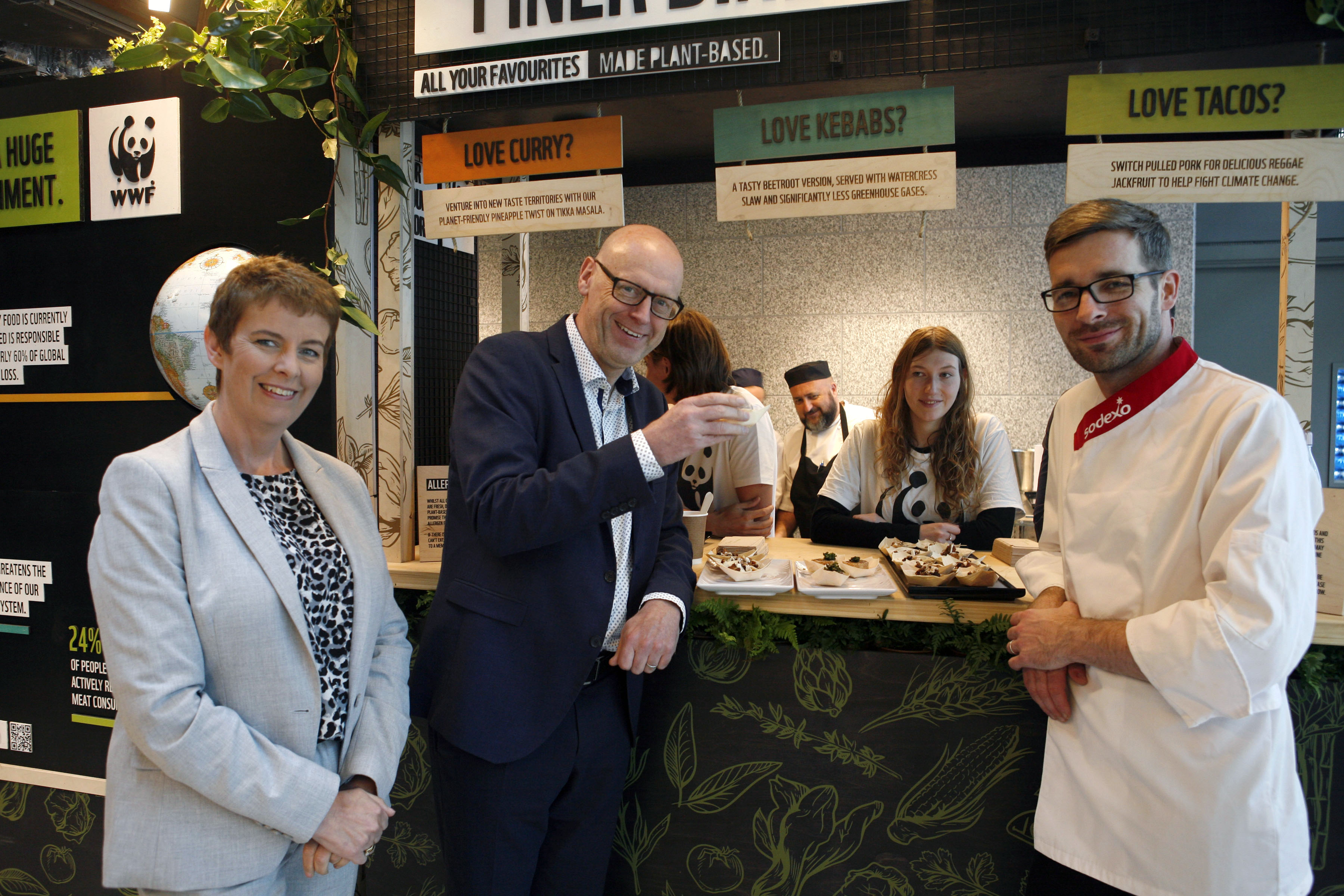 Sodexo and WWF's Finer Diner pop-up