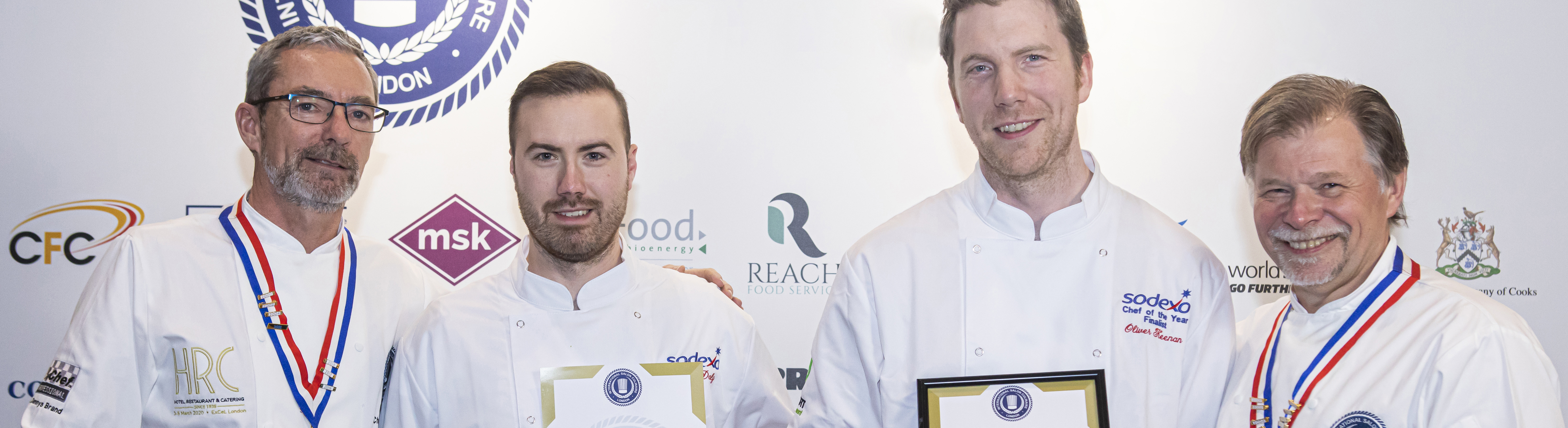Bronze for Chef Ollie Keenan at Sodexo grand final