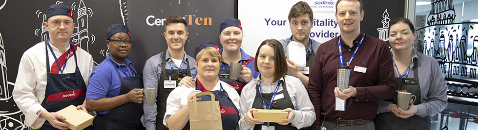 Sodexo NI team wins bronze for WasteLESS Week
