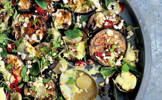 Image of baked aubergine recipe