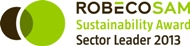 ROBECO SAM Sustainability Award Sector Leader 2013