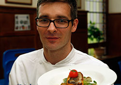 David Fountain, head chef at PayPal in Dundalk, Co. Louth