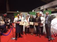 Quartet of Medals for Sodexo at Catex 17