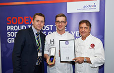 Sodexo wins Gold and Best in Class at IFEX Salon Culinaire