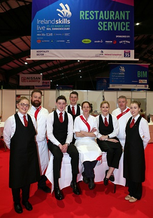 Sodexo nurtures young talent at Ireland Skills Live 2019