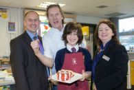 Sheldon School welcomes celebrity chef Paul Rankin