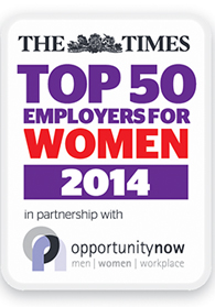Sodexo in The Times Top 50 for women