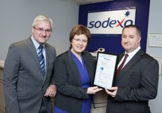 Sodexo Ireland wins hat trick of quality standards
