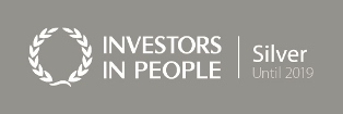 Investors in People silver logo