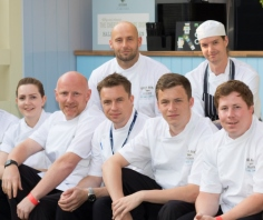 Sodexo chefs pop up at new Royal Ascot celebrity restaurant